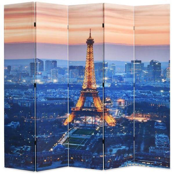 Διαχωριστικό Δωματίου Πτυσσόμενο Νύχτα στο Παρίσι 200 x 180 εκ.   245871