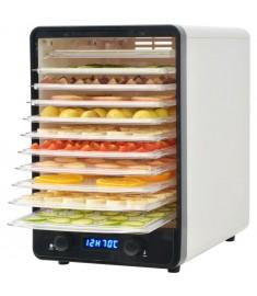 Αποξηραντής Τροφίμων με 10 Δίσκους Λευκός 550 W  50507
