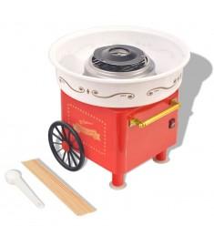 Μηχανή για Μαλλί της Γριάς με Ρόδες 480 W Κόκκινη  50509