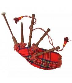 Γκάιντα Σκωτσέζικη Παιδική Σκωτσέζ. Καρό Κόκκινο Royal Stewart  70057
