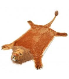 Χαλί Λιοντάρι Καφέ 205 εκ. Βελουτέ   80172
