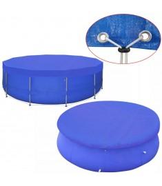 Κάλυμμα Πισίνας Στρογγυλό 460 εκ. 90 γρ./μ² από Πολυαιθυλένιο  91151