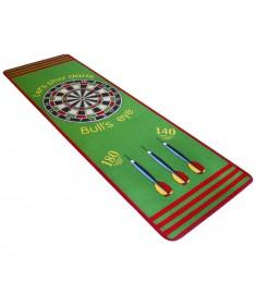 Χαλάκι Σχέδιο Στόχος και Βελάκια Πράσινο/Κόκκινο 79 x 237 εκ.   131904