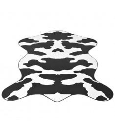 Χαλάκι με Σχέδιο Αγελάδα Μαύρο 70 x 110 εκ.