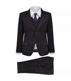 Κοστούμι Παιδικό Επίσημο Τριών Τεμαχίων Μαύρο Μέγεθος 140/146    132396