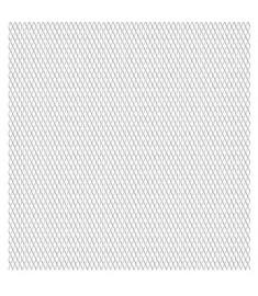 Πλέγμα Ανεπτυγμένο 50x50 εκ. / 20x10x2 χιλ. Ανοξείδωτο Ατσάλι