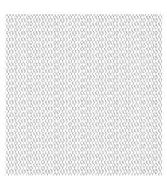 Πλέγμα Ανεπτυγμένο 50x50 εκ. / 30x17x2,5 χιλ. Ανοξείδωτο Ατσάλι