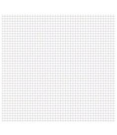Πλέγμα Κατσαρό Καρέ Φύλλα 50x50 εκ. 21x21x2,5 χιλ. Ανοξ. Ατσάλι  142288