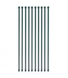 Στηρίγματα Φυτών 10 τεμ. Πράσινα 1 μ. Μεταλλικά  142309