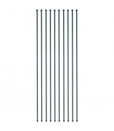 Στηρίγματα Φυτών 10 τεμ. Πράσινα 2 μ. Μεταλλικά   142311