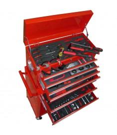 Εργαλειοφόρος Τροχήλατος 7 Επιπέδων με Εργαλεία   142360