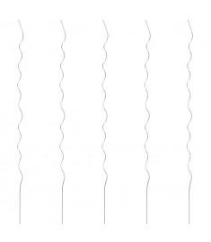 Στηρίγματα Φυτών Ελικοειδή 5 τεμ. 170 εκ. Γαλβανισμένο Ατσάλι  142415