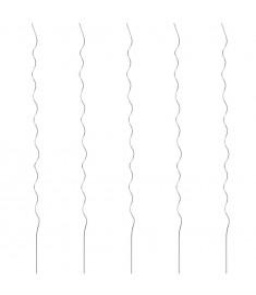 Στηρίγματα Φυτών Ελικοειδή 5 τεμ. 110 εκ. Γαλβανισμένο Ατσάλι  142418