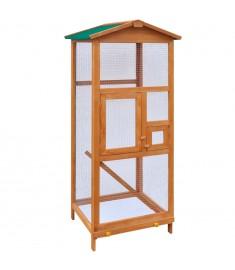 Κλουβί Πουλιών 65 x 63 x 165 εκ. Ξύλινο   170412