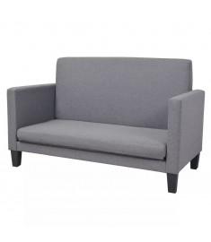 Καναπές-Κρεβάτι Ανοιχτό Γκρι 135 x 70 x 83,5 εκ. Υφασμάτινος   244064