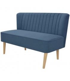 Καναπές Μπλε 117 x 55,5 x 77 εκ. Υφασμάτινος   244072