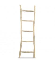 Σκάλα-Κρεμάστρα Πετσετών με 5 Σκαλιά 45x150 εκ. Ξύλο Teak  244568