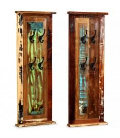 Κρεμάστρες Ρούχων 2 τεμ. 38x100 εκ. από Μασίφ Ανακυκλωμένο Ξύλο   244588