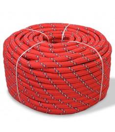 Σχοινί Ναυτιλίας Κόκκινο 8 χιλ. 100 μ. από Πολυπροπυλένιο  91290