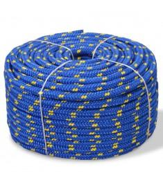 Σχοινί Ναυτιλίας Μπλε 6 χιλ. 100 μ. από Πολυπροπυλένιο   91294