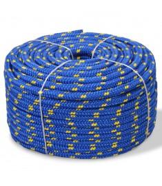Σχοινί Ναυτιλίας Μπλε 8 χιλ. 100 μ. από Πολυπροπυλένιο  91295