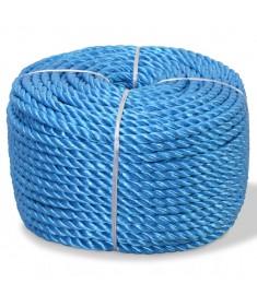 Σχοινί Στριφτό Μπλε 6 χιλ. 200 μ. από Πολυπροπυλένιο  91303