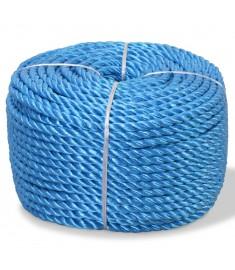 Σχοινί Στριφτό Μπλε 8 χιλ. 200 μ. από Πολυπροπυλένιο  91304