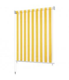 Στόρι Σκίασης Ρόλερ Εξωτ. Χώρου Ριγέ Κίτρινο/Λευκό 100x230 εκ.     43537