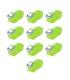 Ιμάντες Πρόσδεσης 10 τεμ. Φωσφ. Πράσινο 0,25 Τόνων 5 x 25 χιλ.  142664