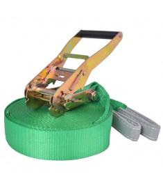 Slackline - Ιμάντας Ισορροπίας Πράσινος 15 μ. x 50 χιλ. / 150 κ.  142666