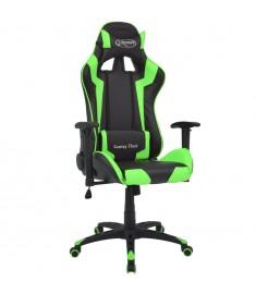 Καρέκλα Γραφείου Racing Ανακλινόμενη Πράσινη Συνθετικό Δέρμα  20174