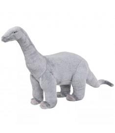 Δεινόσαυρος Βραχιόσαυρος σε Όρθια Στάση Γκρι XXL Λούτρινος  91345