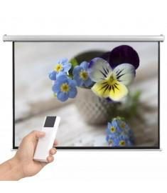Οθόνη Προβολής Ηλεκτρική 200 x 153 εκ. 4:3 με Τηλεχειριστήριο  50562