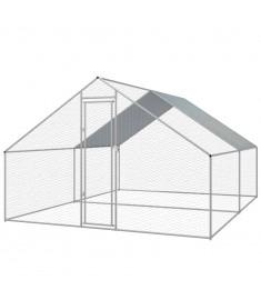 Κοτέτσι - Κλουβί Εξωτ. Χώρου 3x4x2 μ. από Γαλβανισμένο Χάλυβα   170496