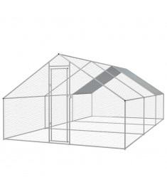 Κοτέτσι - Κλουβί Εξωτ. Χώρου 3x6x2 μ. από Γαλβανισμένο Χάλυβα  170497