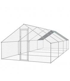 Κοτέτσι - Κλουβί Εξωτ. Χώρου 3x8x2 μ. από Γαλβανισμένο Χάλυβα  170498