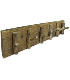 Κρεμάστρα Τοίχου 60 x 15 εκ. από Μασίφ Ανακυκλωμένο Ξύλο   244501