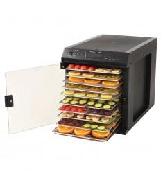 Αποξηραντής Τροφίμων με 11 Δίσκους Μαύρος Ανοξειδ. Ατσάλι 480 W  50599