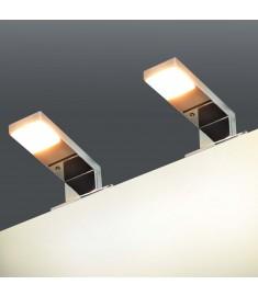 Φωτιστικά Καθρέφτη 2 τεμ. 2 W Θερμό Λευκό  245345