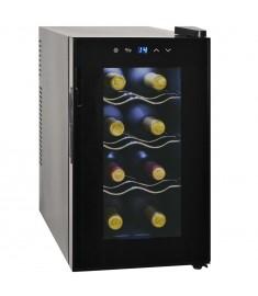 Συντηρητής Κρασιών 25 Λίτρων για 8 Φιάλες με Οθόνη LCD   50604