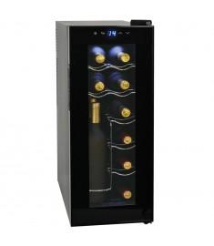 Συντηρητής Κρασιών 35 Λίτρων για 12 Φιάλες με Οθόνη LCD   50605