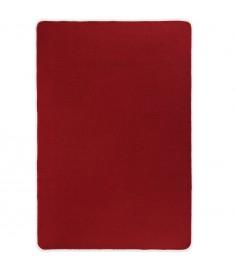 Χαλί Κόκκινο 70 x 130 εκ. από Γιούτα με Υπόστρωμα από Λάτεξ