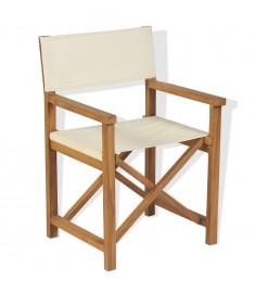 Καρέκλα Σκηνοθέτη Πτυσσόμενη από Μασίφ Ξύλο Ακακίας  43801