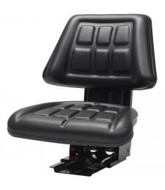 Κάθισμα Τρακτέρ με Ανάρτηση Μαύρο  142316