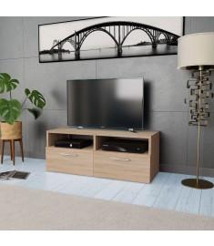 Έπιπλο Τηλεόρασης Χρώμα Δρυς 95 x 35 x 36 εκ. από Μοριοσανίδα   244868