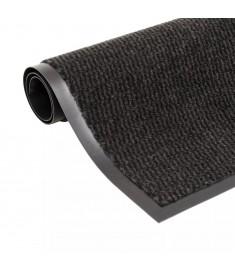 Πατάκι Απορροφητικό Σκόνης Ορθογώνιο Μαύρο 80x120 εκ. Θυσανωτό   132711