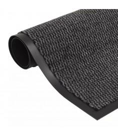 Πατάκι Απορροφητικό Σκόνης Ορθογώνιο Ανθρακί 90x150 εκ Θυσανωτό   132714