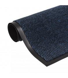 Πατάκι Απορροφητικό Σκόνης Ορθογώνιο Μπλε 90 x 150 εκ. Θυσανωτό   132717