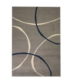 Χαλί Μοντέρνο με Σχέδιο Κύκλων Γκρι 80 x 150 εκ.   133017