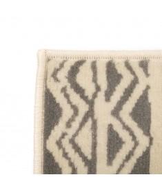 Χαλί Μοντέρνο με Παραδοσιακό Σχέδιο Μπεζ/Γκρι 140 x 200 εκ.   133024